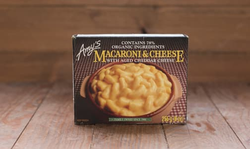 Organic Macaroni & Cheese (Frozen)- Code#: PM624