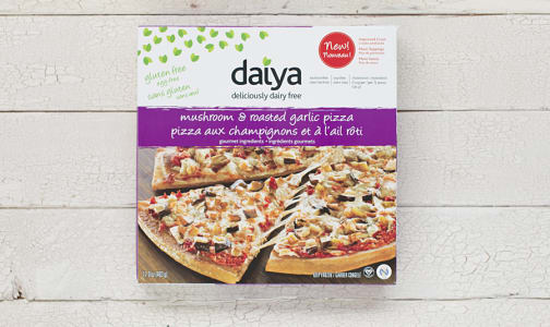 Mushroom & Garlic Pizza (Frozen)- Code#: PM672
