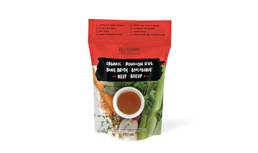 Organic Grass Fed Beef Bone Broth (Frozen)- Code#: PM770