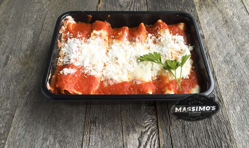 Cheese Manicotti - Family- Code#: PM8105