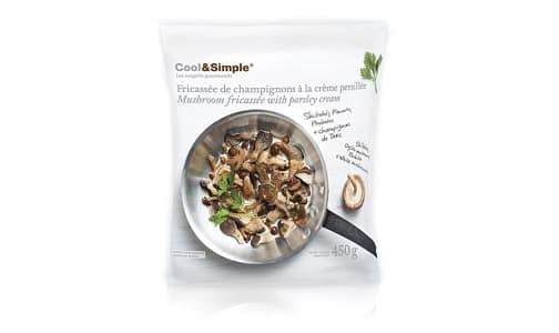 Mushrooms Fricasse with Parsley Cream (Frozen)- Code#: PM8124