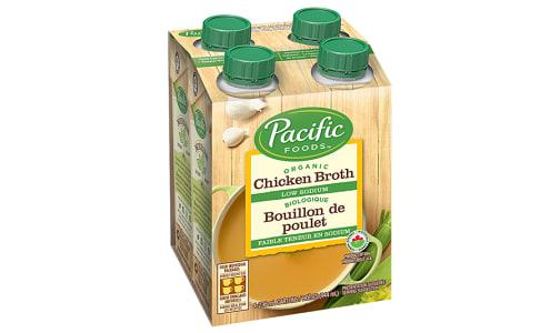 Organic Low Sodium Chicken Broths- Code#: PM937