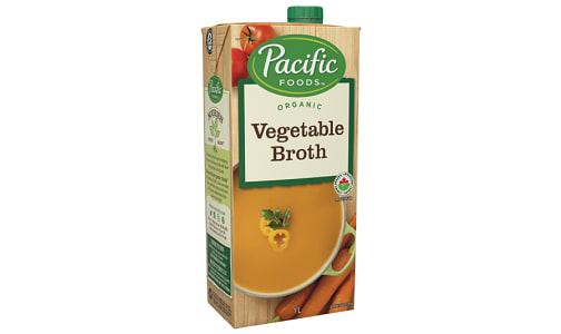 Organic Low Sodium Vegetable Broth- Code#: PM942