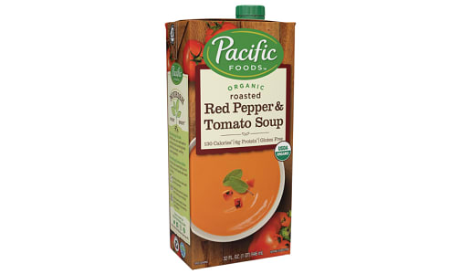 Organic Red Pepper Tomato Soup- Code#: PM946