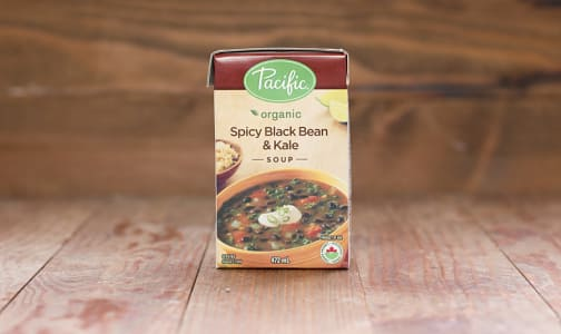 Organic Spicy Black Bean & Kale Soup- Code#: PM951
