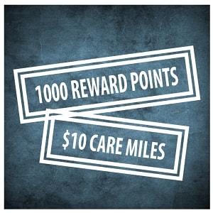 $10 rebate for 1000 Rewards Points- Code#: POINTS