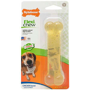 Chicken Flexi Chew Bone - For dogs up to 35lbs- Code#: PS010