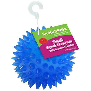 Gnawesome Squeak & Light Ball - 2.5 - Code#: PS013