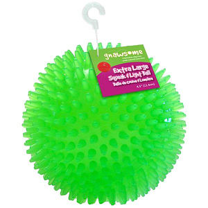 Gnawesome Squeak & Light Ball - 4.5 - Code#: PS015