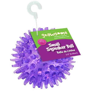 Gnawsome Squeaker Ball - 2.5 - Code#: PS016