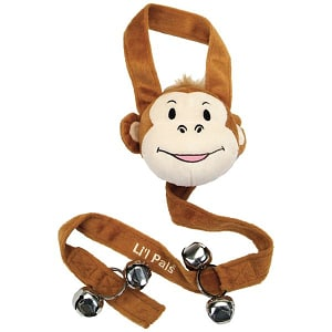 Potty Training Bells - Monkey- Code#: PS049