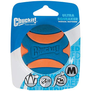 Ultra Squeaker Ball - Medium- Code#: PS125