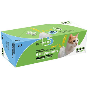 Drawstring Litter Pan Liners - Extra Giant- Code#: PS533