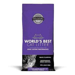 Cat Litter - Scented Multi Cat Clumping Formula- Code#: PS609