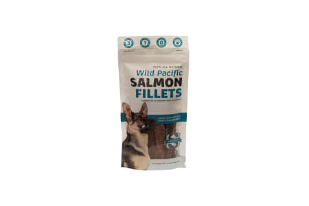 Salmon Jumbo Fillets for Big Dogs- Code#: PT005