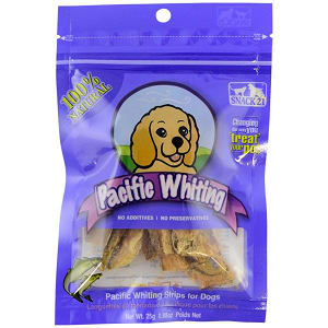 Pacific Whiting Strips for Dogs- Code#: PT006