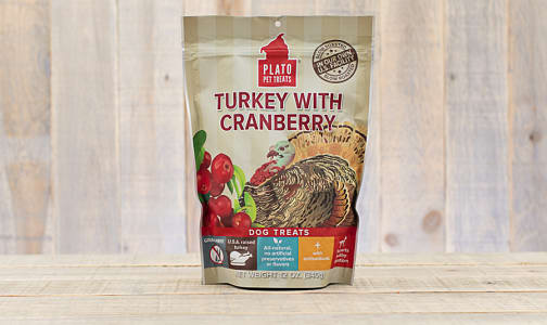 Turkey with Cranberry Real Strips- Code#: PT0238