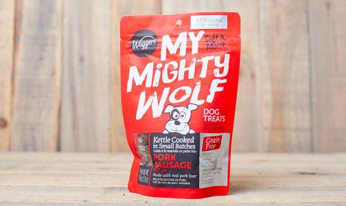 My Mighty Wolf - Pork Sausage Dog Treats- Code#: PT024