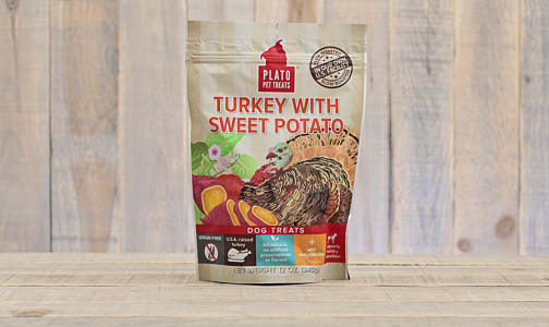 Turkey with Sweet Potato Real Strips- Code#: PT0240