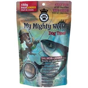 My Mighty Wolf - Salmon-Licious Dog Treats- Code#: PT027