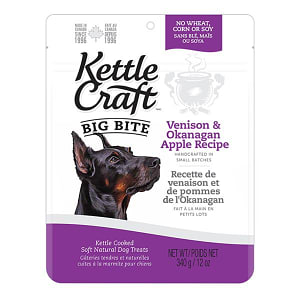 Venison & Okanagan Apple Big Bite Dog Treats- Code#: PT035
