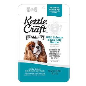 Salmon & Sea Kelp Small Bite Dog Treats- Code#: PT038