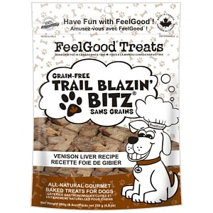 Grain Free Trail Blazin' Bitz - Venison Liver Dog Treats- Code#: PT084