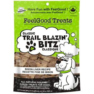 Classic trail Blazin' Bitz - Bison Liver Dog Treats- Code#: PT085