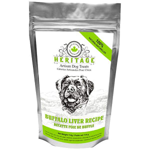 Heritage Artisan Dog Treats - Buffalo Liver Dog Treats- Code#: PT086