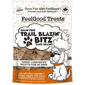 Grain Free Trail Blazin' Bitz - Turkey Liver Dog Treats- Code#: PT087