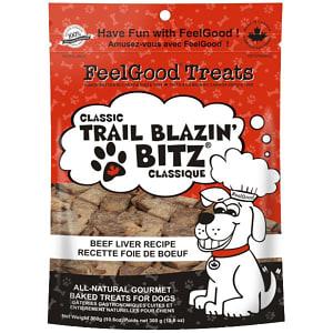 Classic trail Blazin' Bitz - Beef Liver Dog Treats- Code#: PT088