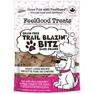 Grain Free Trail Blazin' Bitz - Goat Liver Dog Treats- Code#: PT089