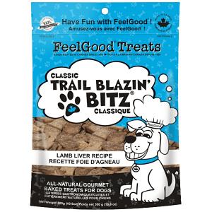 Classic trail Blazin' Bitz - Lamb Liver Dog Treats- Code#: PT090