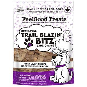 Grain Free Trail Blazin' Bitz - Pork Liver Dog Treats- Code#: PT091