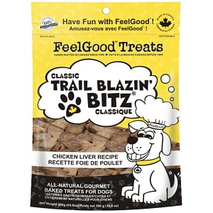 Classic trail Blazin' Bitz - Chicken Liver Dog Treats- Code#: PT092
