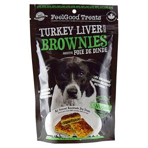 Turkey Liver Brownies Dog Treats- Code#: PT097