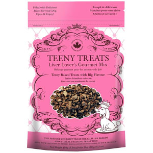 Teeny Treats Liver Lovers Gourmet Mix Dog Treats- Code#: PT099