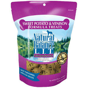 Limited Ingredient Treats: Venison & Sweet Potato Dog Treats- Code#: PT104