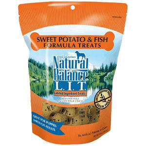 Limited Ingredient Treats: Fish & Sweet Potato Dog Treats- Code#: PT105