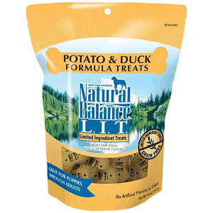 Limited Ingredient Treats: Duck & Sweet Potato Dog Treats- Code#: PT106
