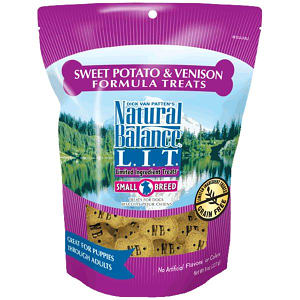 Small Breed Limited Ingredient Treats: Venison & Sweet Potato Dog Treats- Code#: PT107