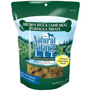 Limited Ingredient Treats: Lamb & Brown Rice Dog Treats- Code#: PT111