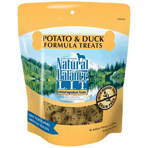 Limited Ingredient Treats: Duck & Sweet Potato Dog Treats- Code#: PT112