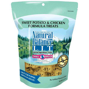 Small Breed Limited Ingredient Treats: Chicken & Sweet Potato Dog Treats- Code#: PT115