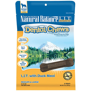 Limited Ingredient Treats: Duck Dental Chews - Small to Medium Breed- Code#: PT116