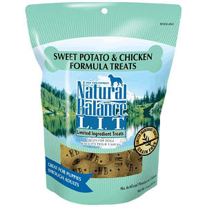 Limited Ingredient Treats: Chicken & Sweet Potato Dog Treats- Code#: PT119