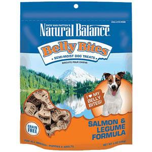 Belly Bites - Salmon & Legume Dog Treats- Code#: PT123