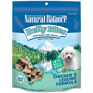 Belly Bites - Chicken & Legume Dog Treats- Code#: PT125
