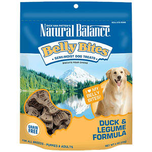 Belly Bites - Duck & Legume Dog Treats- Code#: PT126