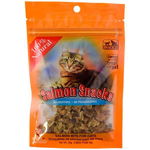 Salmon Snacks for Cats- Code#: PT501